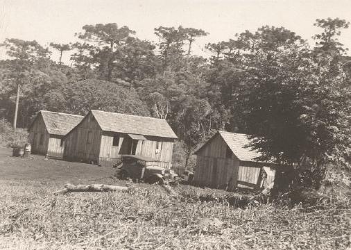 Primeiras casas de Toledo - 1946