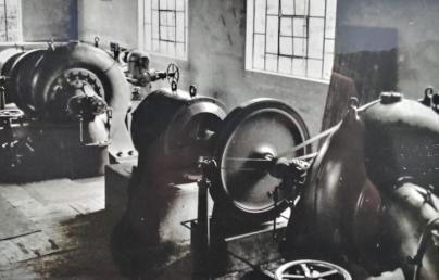 Turbinas da Casa das Maquinas.