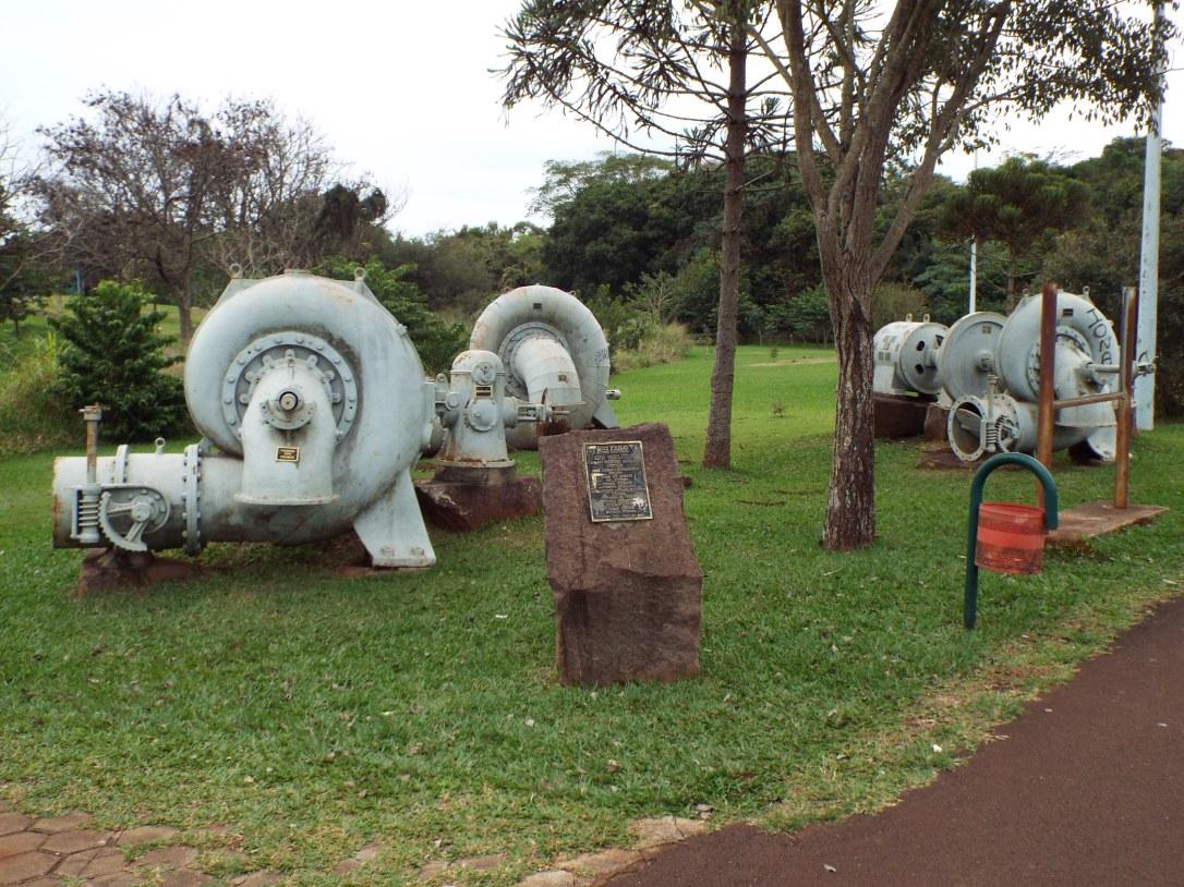Memorial da Usina Hidrelétrica - Parque dos Pioneiros - Toledo