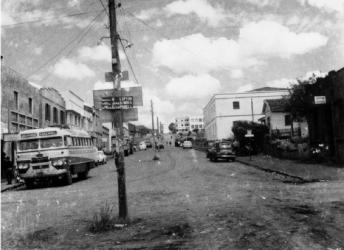 Rua 7 de setembro - 1962