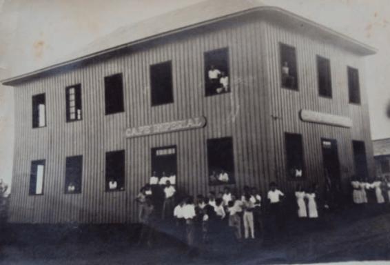 Café Imperial. Rua 7 de setembro com Rui Barbosa. - Dec. de 1950