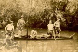 Caça e pesca. Final da déc. 1940